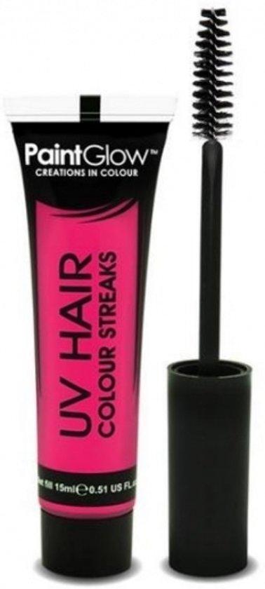 UV haarmascara roze