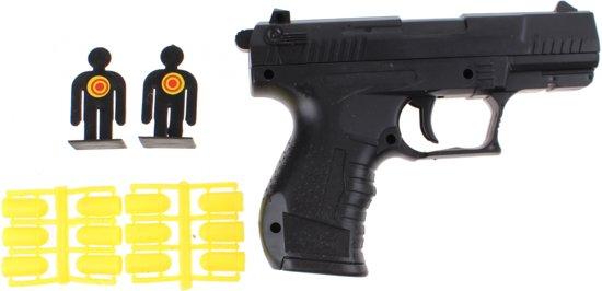 Toi-toys Politie Pistool Zwart 16 Cm 15- Delig