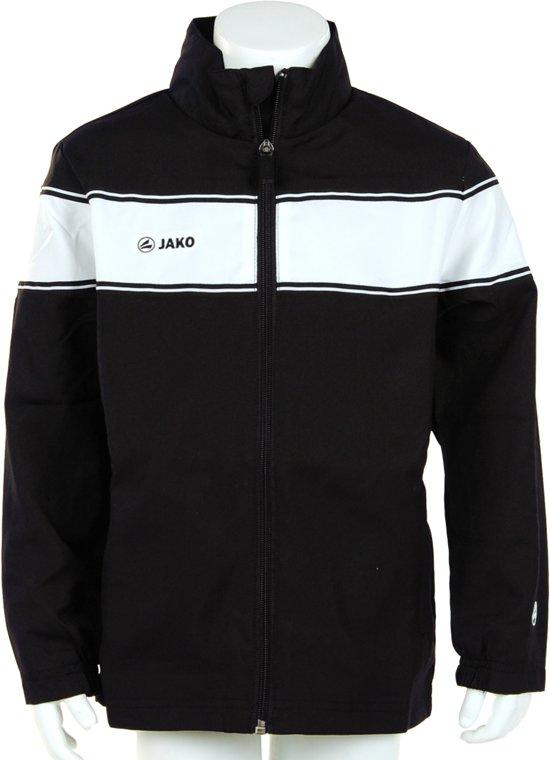 Jako Woven Jacket Player Junior - Sportshirt - Kinderen - Maat 164 - Black;White