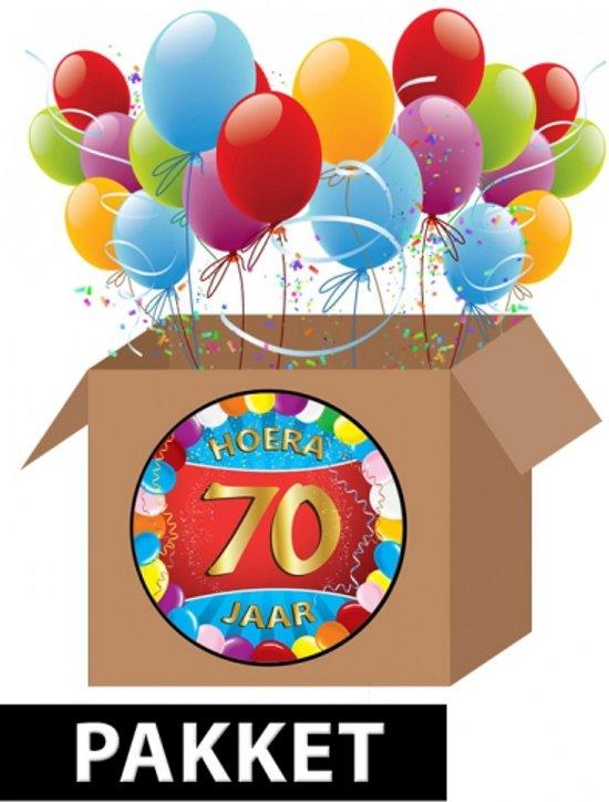 70 jaar bol.| 70 jaar versiering voordeel pakket, Fun & Feest Party  70 jaar