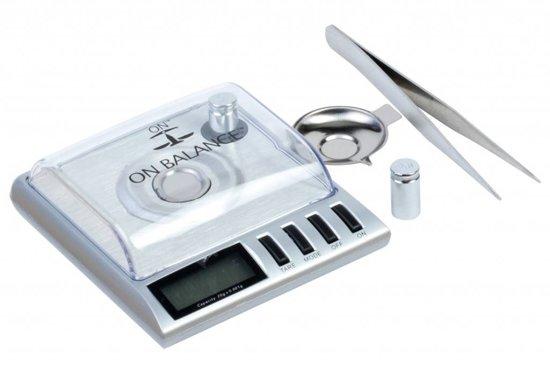On Balance CJ-20 Laboratoriumweegschaal Precisie Milligram Weegschaal 0.001 milligram nauwkeurig tot 20 gram