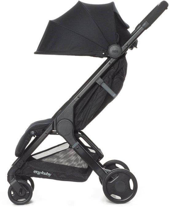 Ergobaby Metro Compact City Stroller Buggy - Black - zeer compacte  plooibuggy