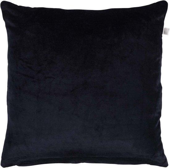 Dutch Decor Sierkussen Cido 45x45 cm zwart