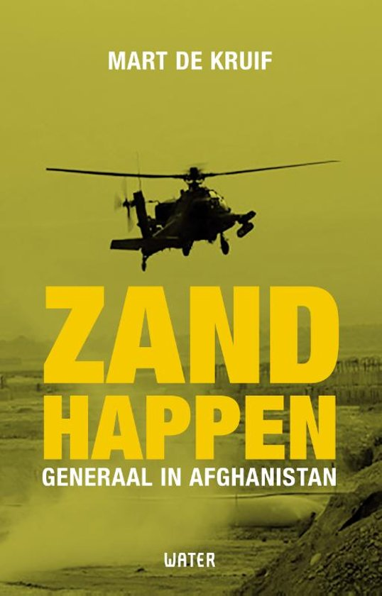 Boek cover Zandhappen van Mart de Kruif (Paperback)