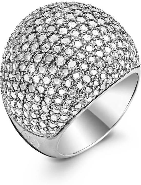 TI SENTO Milano Ring 1954SD - Maat 54 (17,25 mm) - Gerhodineerd Sterling Zilver