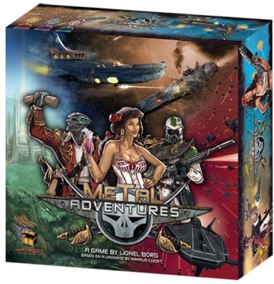 Afbeelding van het spel Metal Adventures