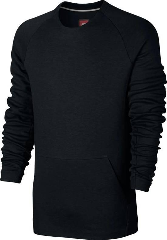 Nike Sportswear Tech Fleece Crew LS Sporttrui casual Heren - Black/(Black)