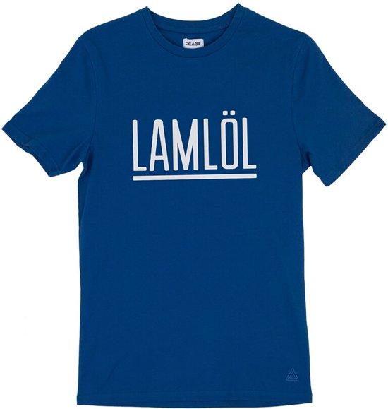 LAMLÖL BLAUW T-SHIRT