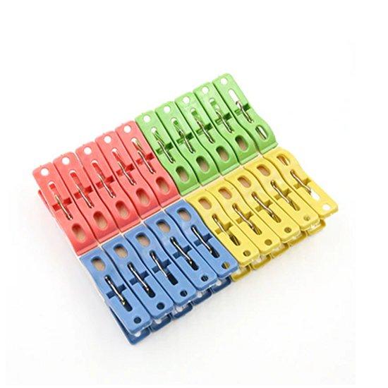20 Plastic Wasknijpers