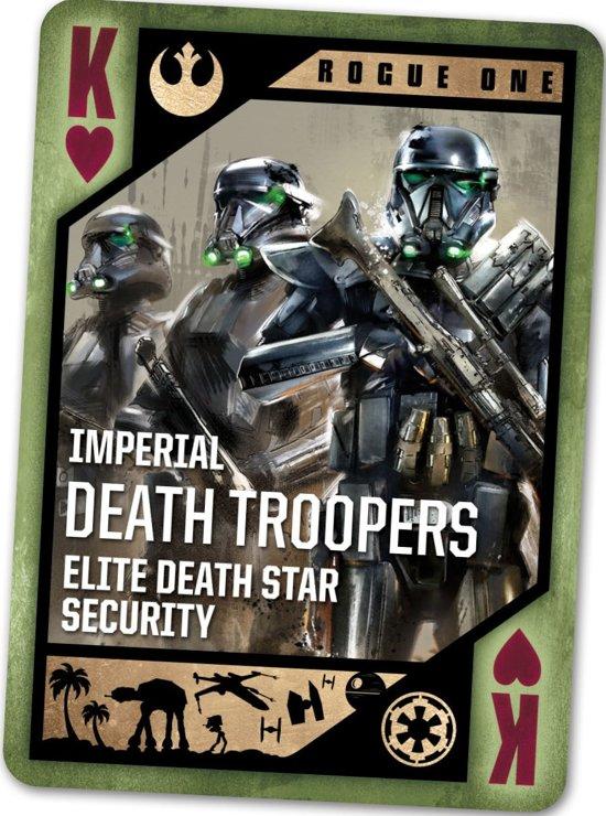 Thumbnail van een extra afbeelding van het spel Star Wars: Rogue One - Collectors Edition - Speelkaarten