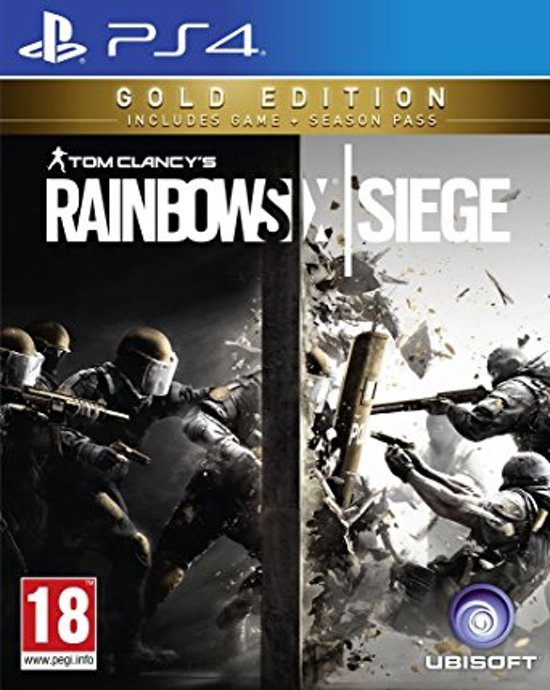 Rainbow Six Siege: Gold Edition (Ps4) kopen