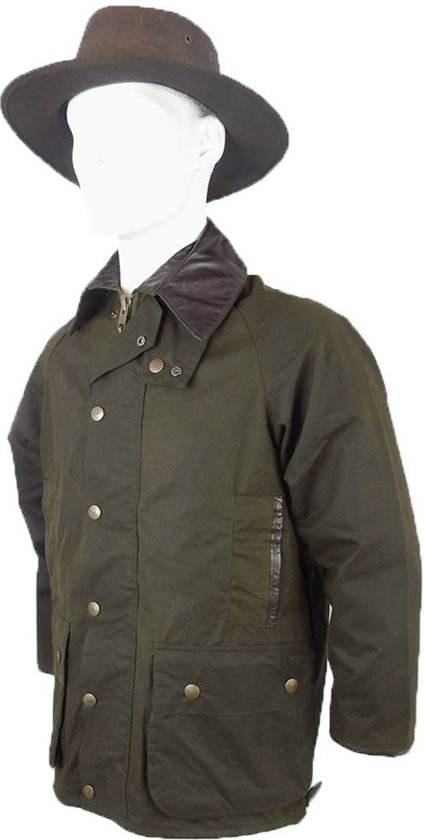 Berwick Leisure Olive Size Dark Jacket Wear Mgo Wax S Heren qTwxP