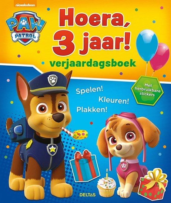 Boek cover Paw Patrol - Hoera, 3 jaar! verjaardagsboek van  (Paperback)