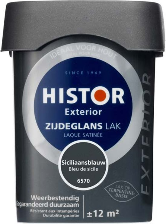Histor  Perfect Finish Zijdeglanslak, Wit - 500 ml