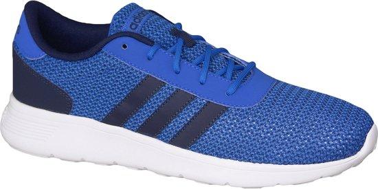 Adidas Lite Racer F99418, Mannen, Blauw, Sportschoenen maat: 44 2/3 EU