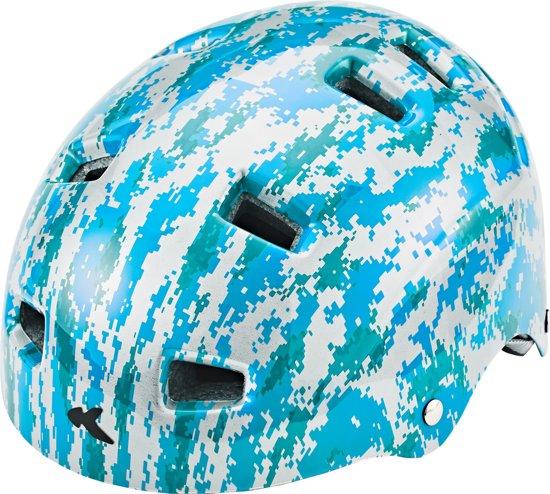 KED Risco K-Star helm blauw Hoofdomtrek 57-62 cm