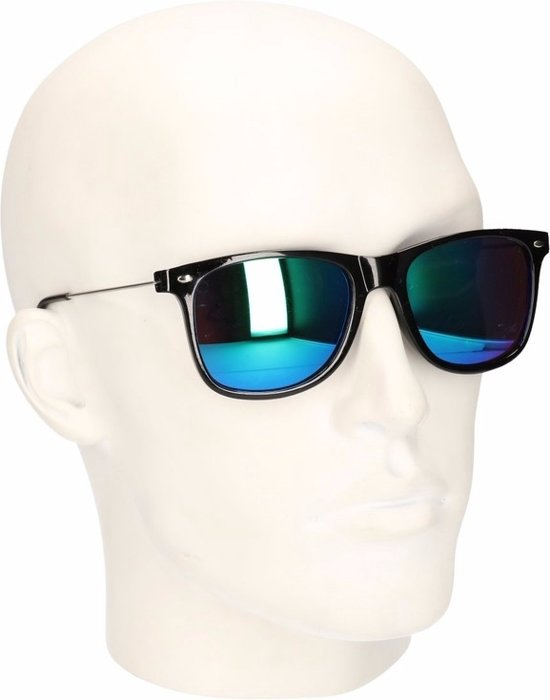 bol.com   Clubmaster zonnebril met spiegel glazen b580f5c57ff2