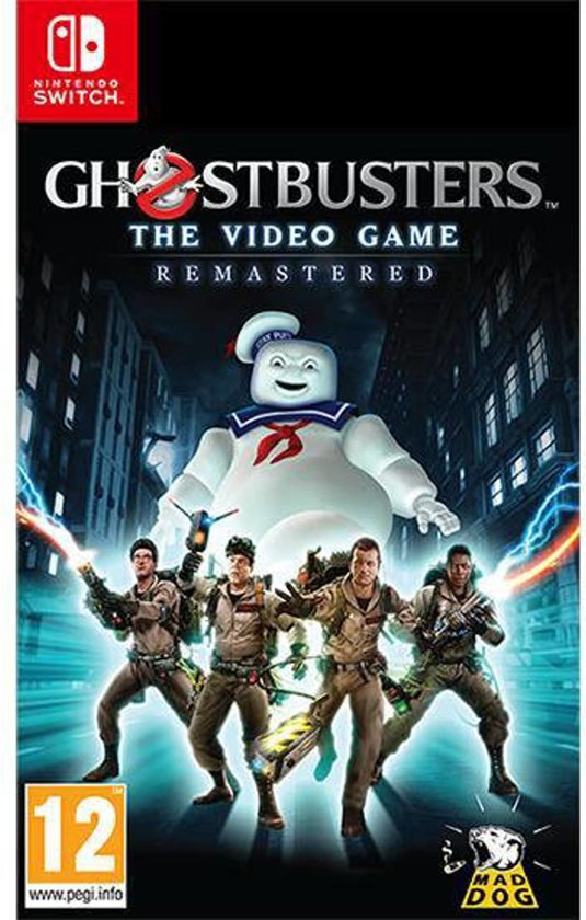 Cover van de game Ghostbusters the Videogame: Remastered - Switch