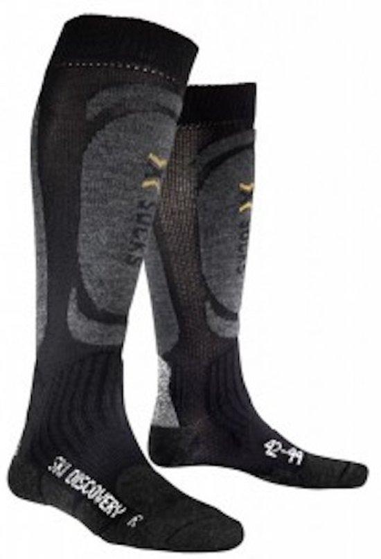 X-Socks Ski Discovery Black/Antarcite Maat - 35/38