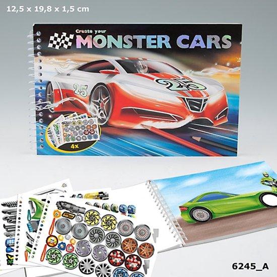 Bol Com Monster Cars Pocket Kleurboek Depesche