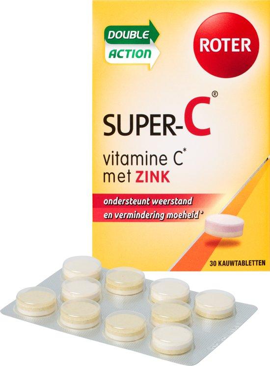 vitamine c met zink