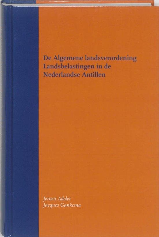 De Algemene landsverordening Landsbelastingen in de Nederlandse Antillen