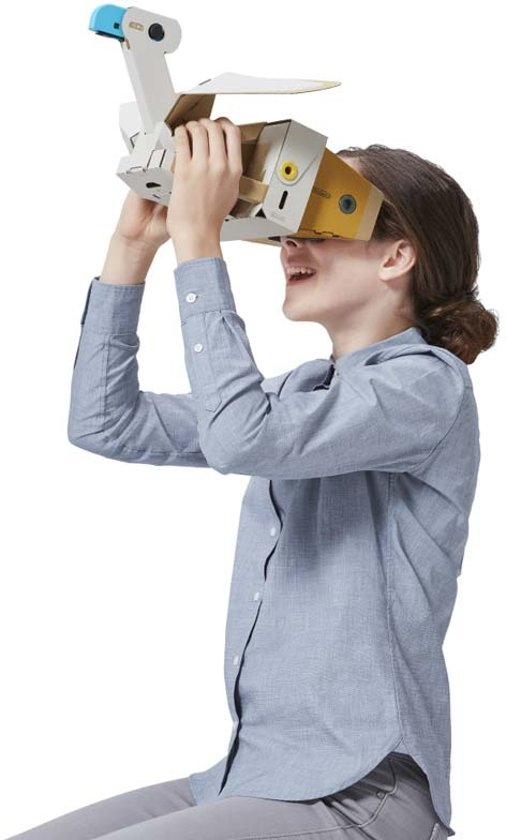 Nintendo Labo: VR-pakket - Uitbreidingsset 2 Toy-Con Windpedaal + Vogel