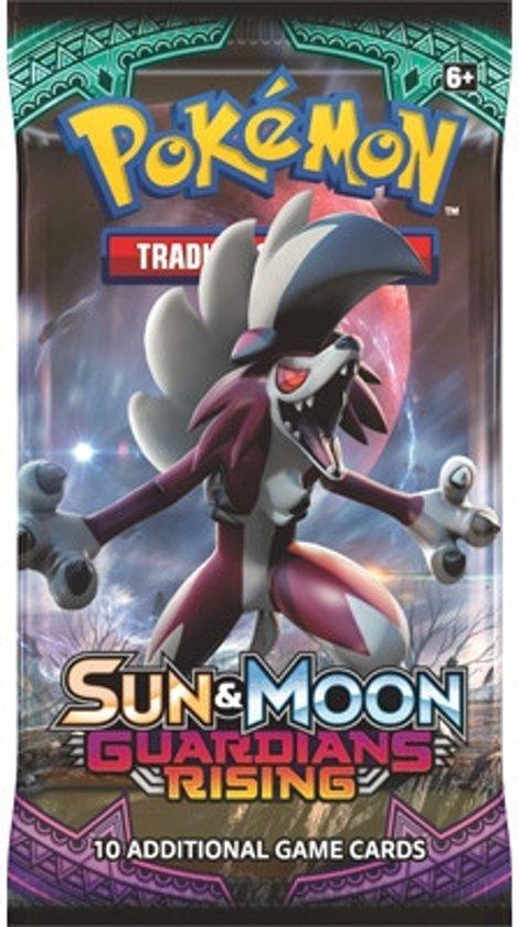Afbeelding van het spel 1 Pakje Pokemon Kaarten Sun & Moon Guardians Rising