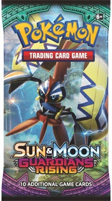 Thumbnail van een extra afbeelding van het spel 1 Pakje Pokemon Kaarten Sun & Moon Guardians Rising
