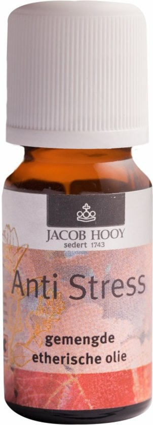 Jacob Hooy Anti Stress - 10 ml - Etherische Olie