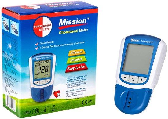 Mission Cholesterolmeter  3-in-1 - 1 stuk - Starterspakket