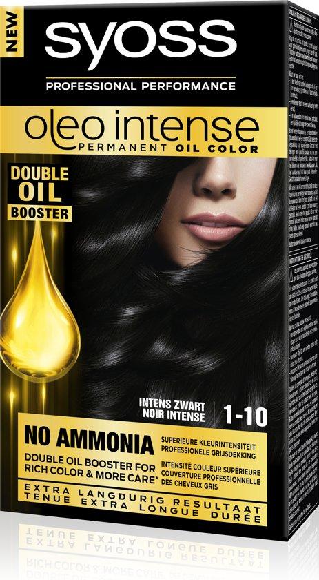 SYOSS Color Oleo Intense 1-10 Intens zwart Haarverf - 1 stuk