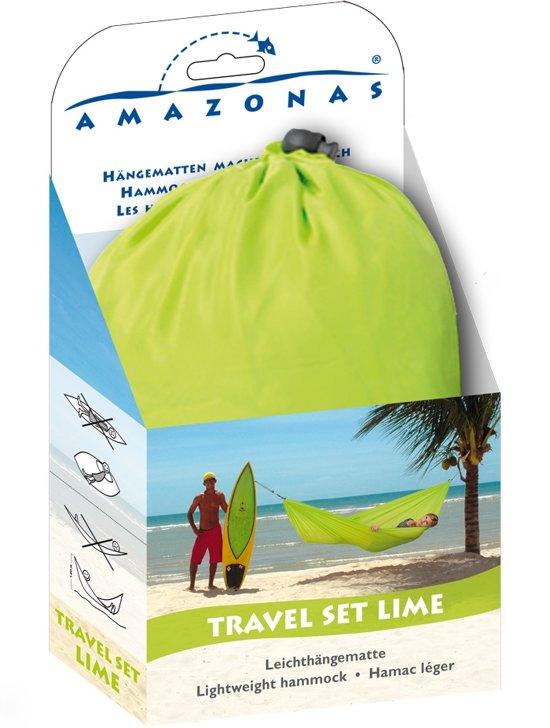 Reishangmat 'Travelset' lime