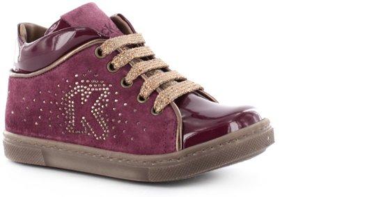 Kickers - Kick M.Bottien B150 - Gesloten Schoenen - Meisjes - Roze - Crosta 2041/Patent 66785/Crist