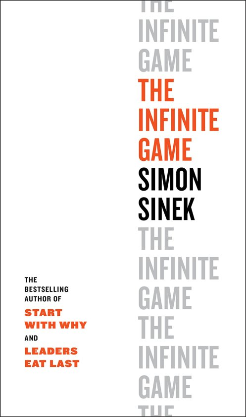 Boek cover The Infinite Game van Simon Sinek (Hardcover)