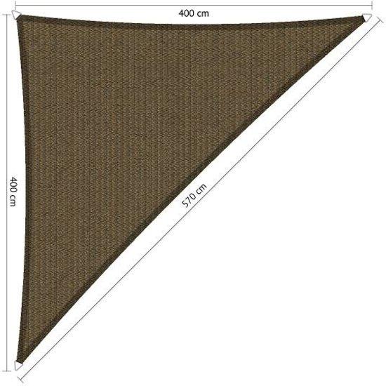 Schaduwdoek Bol Com.Bol Com Schaduwdoek Triangle 90 Japans Bruin Van Den Eijnde