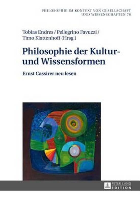 Philosophie Der Kultur- Und Wissensformen