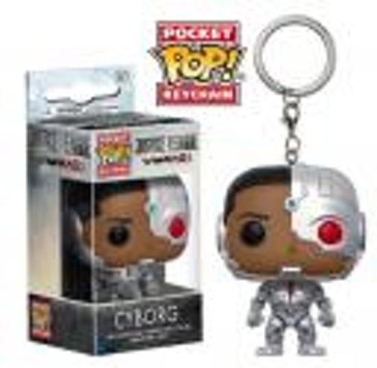 Funko! - PoP! Pocket Keychain - Justice League - Cyborg