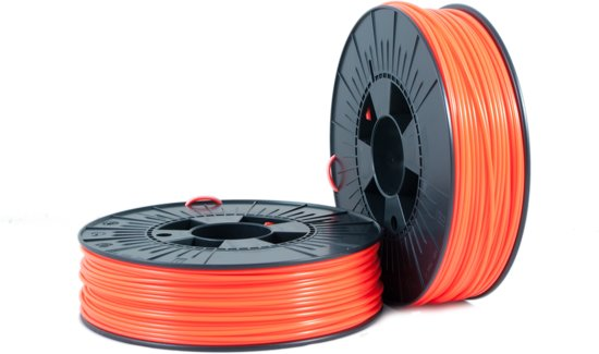 ABS 2,85mm  orange fluor 0,75kg - 3D Filament Supplies