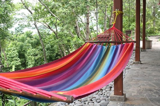 Hangmat Rainbow - met spreidstok