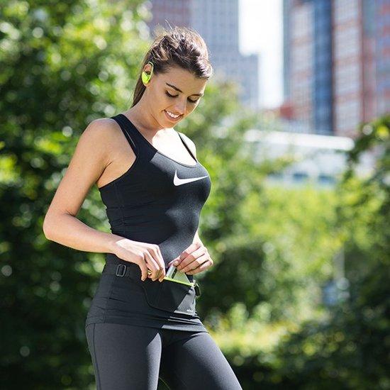 Avanca Sports Belt (Zwart) heuptas voor hardlopen en fitness