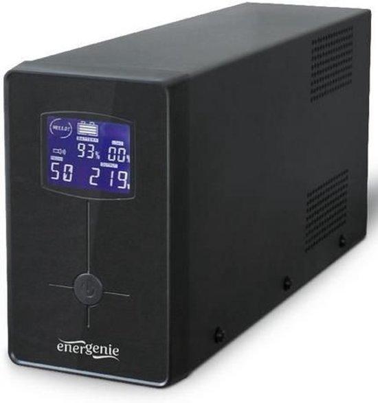 EnerGenie EG-UPS-032 - UPS met LCD, 850 VA