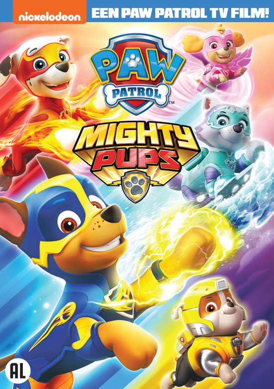 DVD cover van Paw Patrol - Volume 18: Machtige Pups