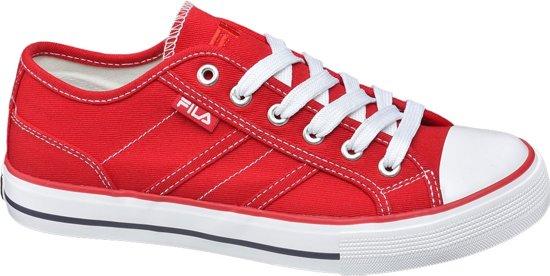 e446afa8872 bol.com | Fila Dames Rode canvas sneaker - Maat 36