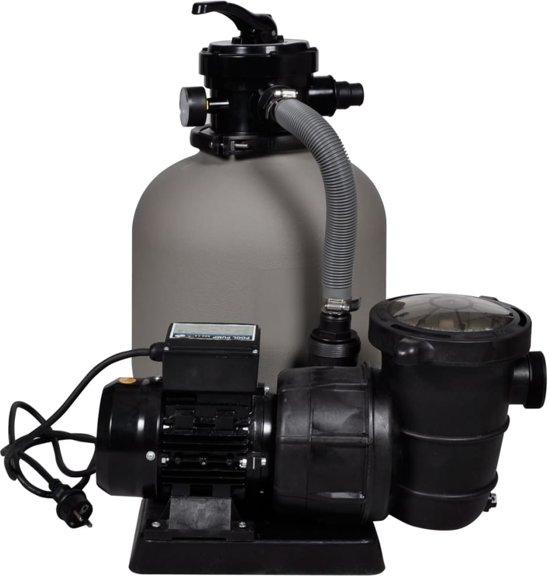 vidaXL - Zwembadreiniging Zandfilter met zwembad filterpomp 90396