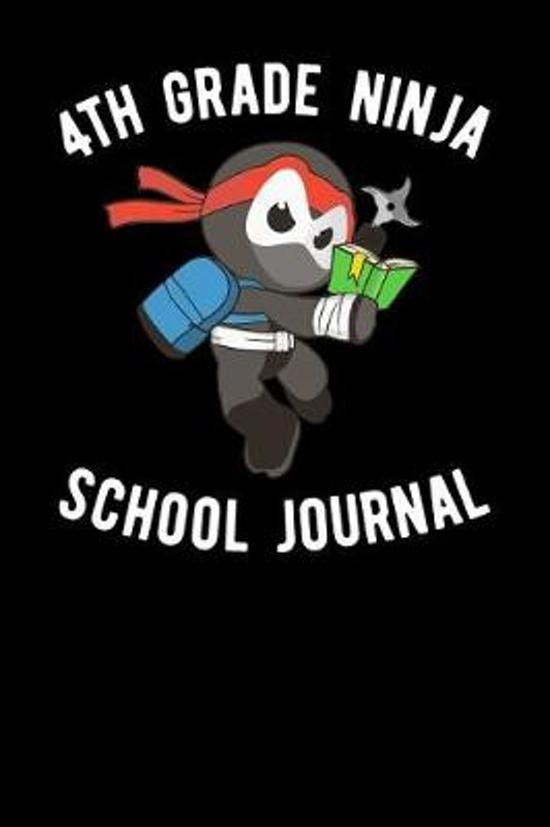 4th Grade Ninja School Journal