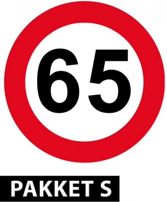 65 Jaar Versiering Pakket Klein