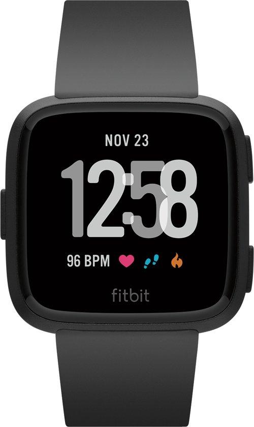 Fitbit Versa - Smartwatch - Zwart