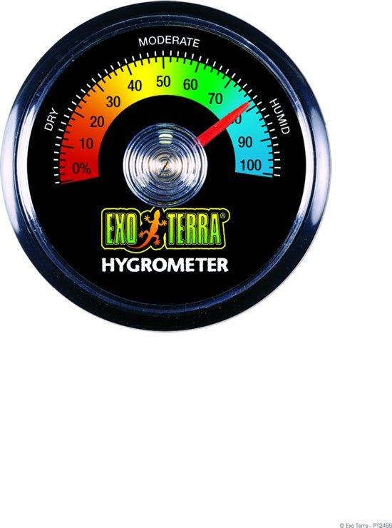 Exo Terra ANALOGE HYGROMETER REPT-O-METER 10,5X2X18CM