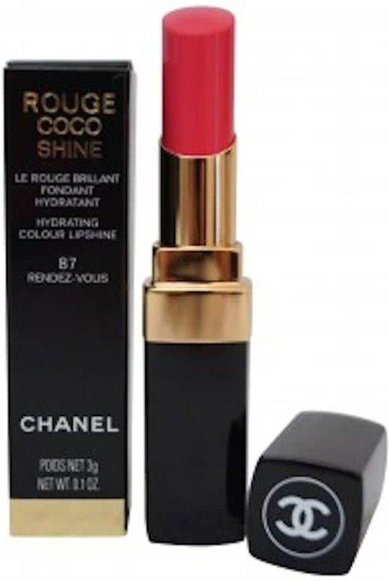 Coco Chanel Lippenstift : chanel rouge coco shine 87 rendez vous ~ Watch28wear.com Haus und Dekorationen